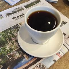 Coffee break at Toby's Estate