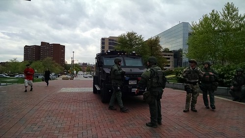 I've never seen anything like THIS at Harborplace or the Inner Harbor.