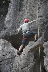 Another shot of Alan climbing
