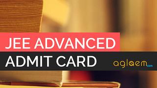 JEE Advanced Admit Card 2015 - IIT JEE Advanced Admit Card