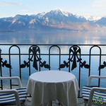 Balcony with a Lakeside & Mountain View - Montreux, Switzerland