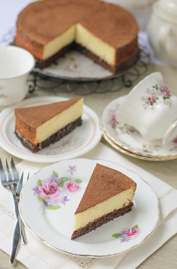 New York Brownie Cheesecake recipe
