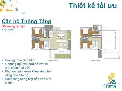 Dự án căn hộ The Krista