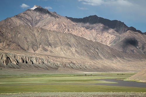 mountain water ecology river scenery asia grand mount land environment spacious tajikistan stark centralasia barren rugged imposing ecosystem pamirs murgab murghab gbao pamirmountains gornobadakhshanautonomousprovince kuhistonibadakhshon mountainousbadakhshan