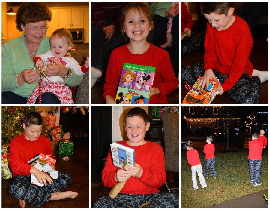 presents and reindeer food