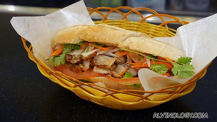 Banh Mi Pate Grilled Chicken - S$6.90
