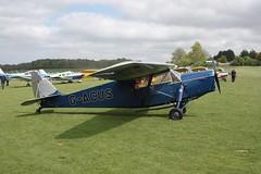 G-ACUS de Havilland DH85 Leopard Moth Popham