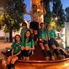 Scouts having fun in Porto. Escoteiros de Portugal from Santarem exploring and camping in Porto. #scoutsportugal #exploringporto #exploringportugal