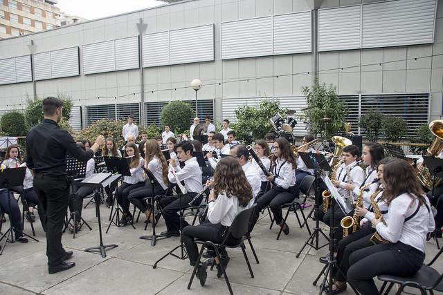 Audición conjunto intrumental de banda - colegio alemán