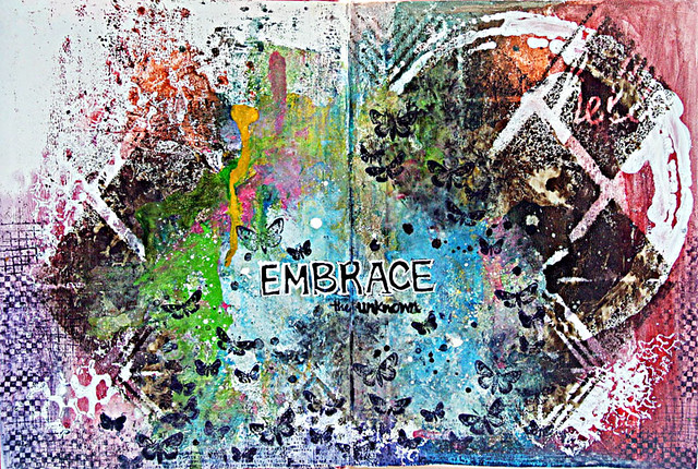 Embrace-the-uinknown-art-journal-pages