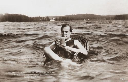 Victor Sjöström in Thomas Graals bästa film (1917)