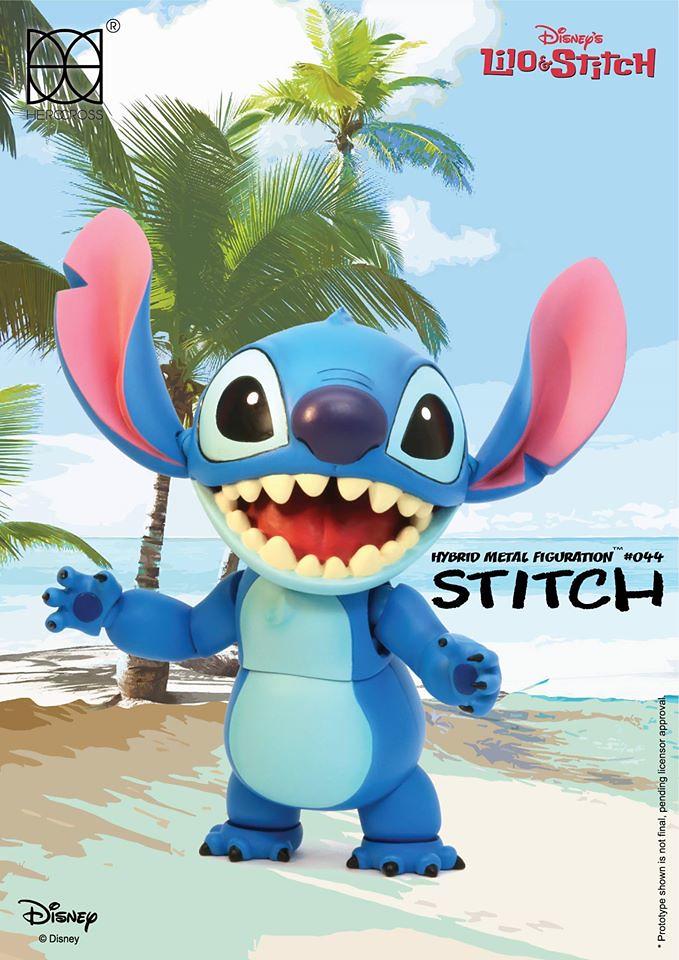 HEROCROSS【星際寶貝:史迪奇】626 號實驗品 Stitch HMF#044