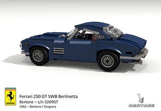 Ferrari 250 GT SWB Berlinetta sn 3269GT (1962 - Bertone / Giugiaro)
