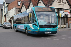 Arriva Kent Thameside . ( Arriva Southern Counties ) . 4230 KX62JVW . Stansted Road , Bishop's Stortford , Hertfordshire . Monday 27th-April-2015 .