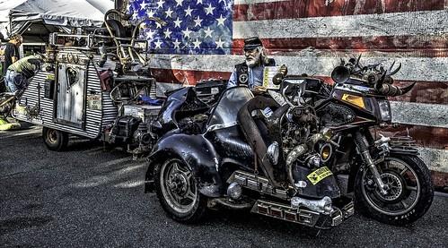 Hon Dogs Rat Trike W/Deluxe Camper