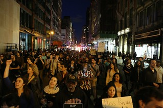 Shut It Down, Baltimore Solidarity Protest, NYC: Broadway
