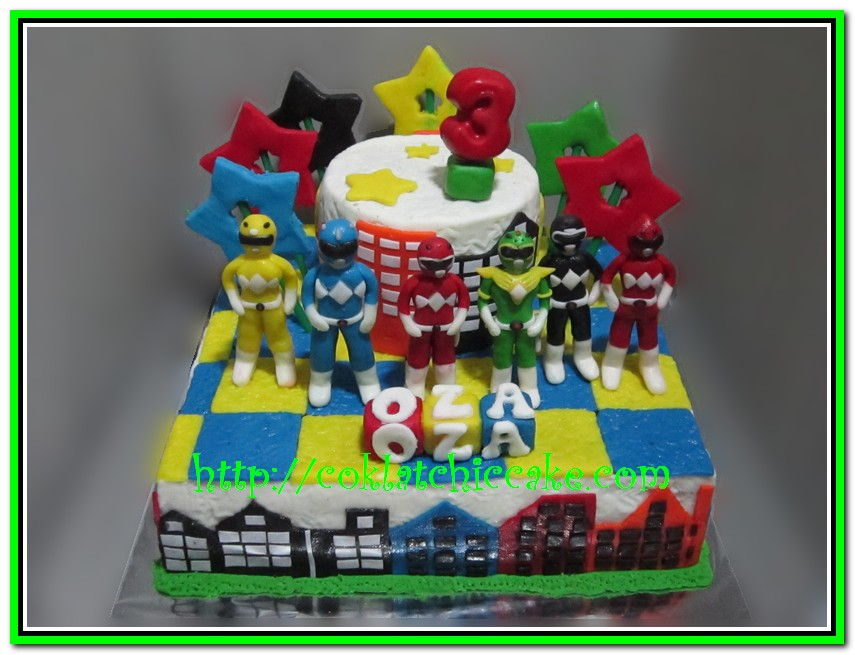 Cake Power Ranger