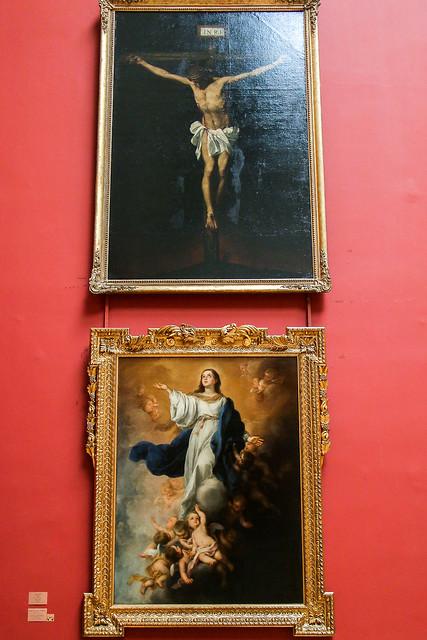 Spanish paintings in Hermitage Museum, Saint Petersburg, Russia エルミタージュ美術館のスペイン絵画コーナー