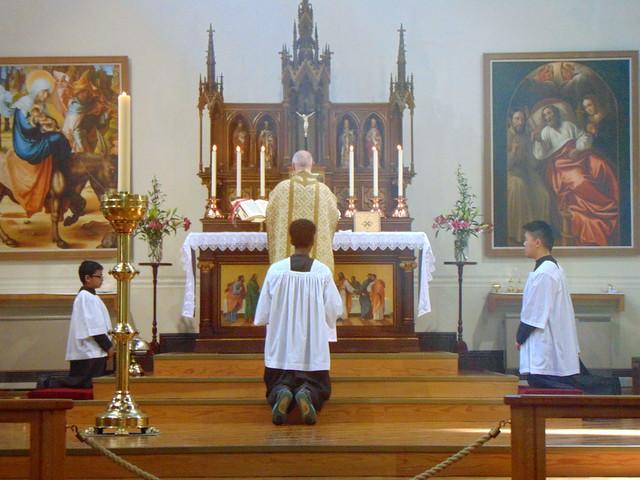 Holy Mass at St. Joseph's