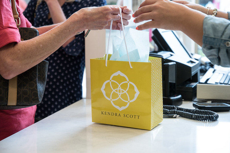 Shopping Bag at Kendra Scott