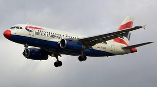 British Airways Airbus A319-131 G-EUOF