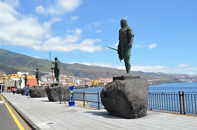 The Mencey Statues, Candelaria, Tenerife