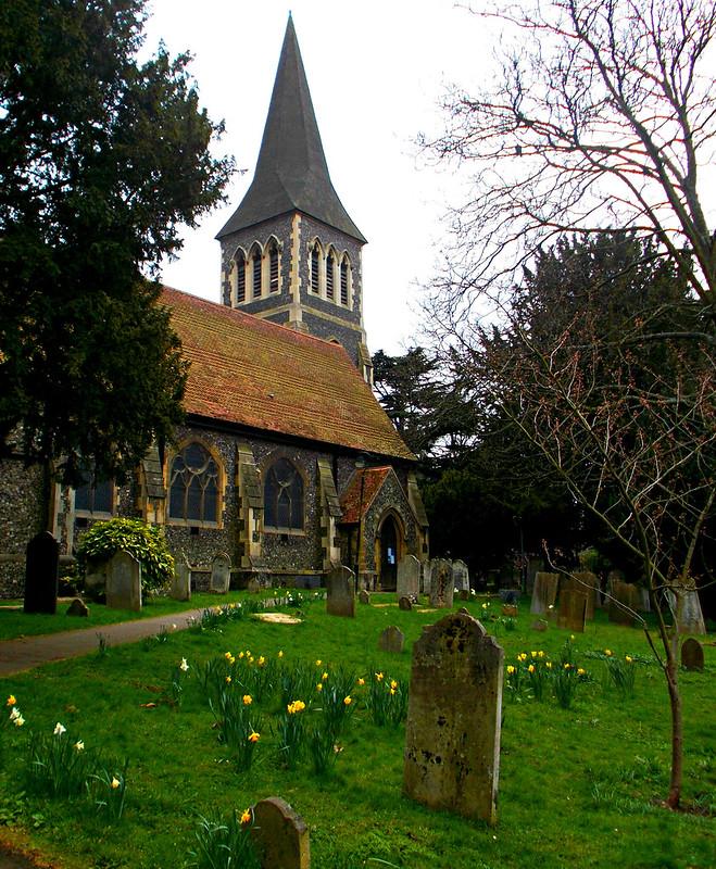 St Nicholas Churchyard, Sutton, Surrey, Greater London 3