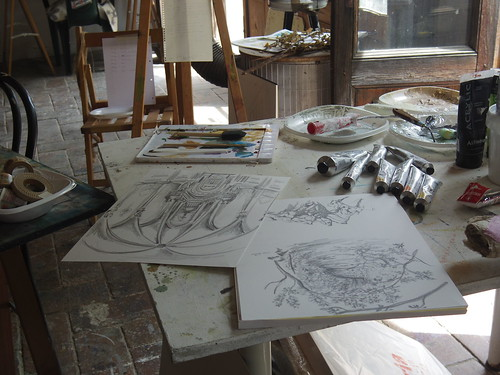 Can Serrat Open studio