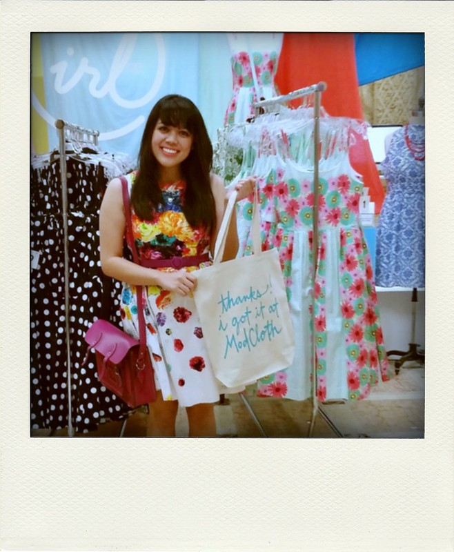 Photo Diary: ModCloth's #ModClothIRL Pop-Up Fit Shop Event in LA