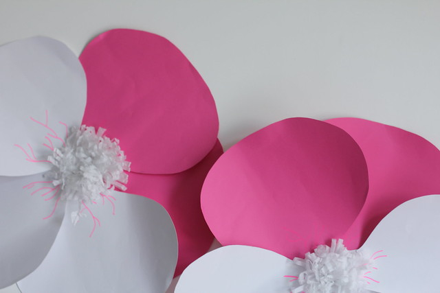 Paper pansy row by little luxury list
