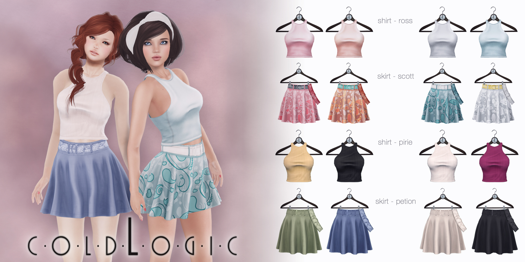 coldLogic - skirts & racerback tanks