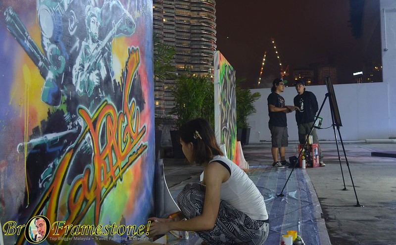 Graffiti Art - Nando's Art Initiative 2015