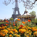 Eiffel Tower at spring by Damien Graham ☮✈♫