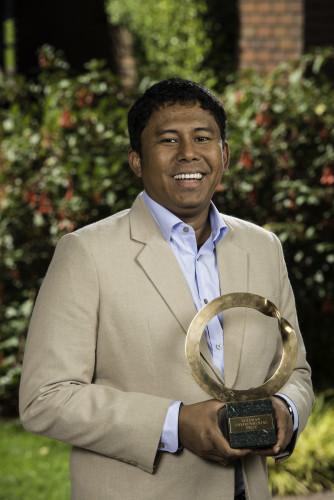 a015環保金人獎亞洲區得主:Myint Zaw。圖片來源:Goldman Environmental Prize。