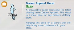 Dream Apparel Decal