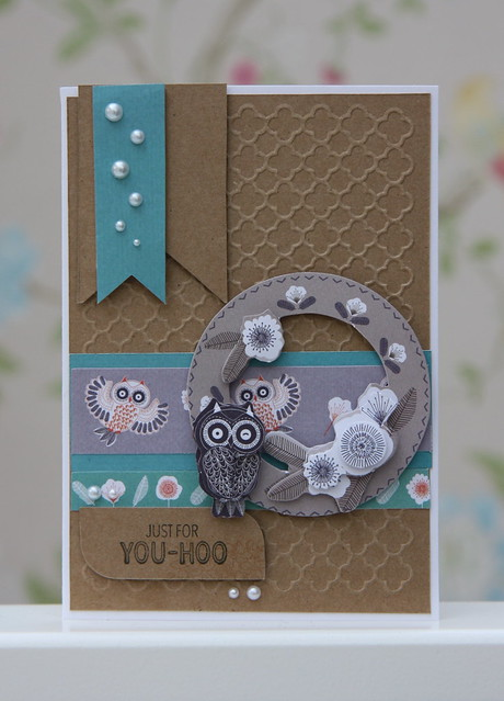 Yoo Hoo Owl Card by StickerKitten