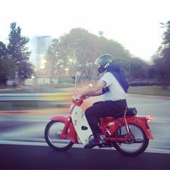 El motoquero ochentoso