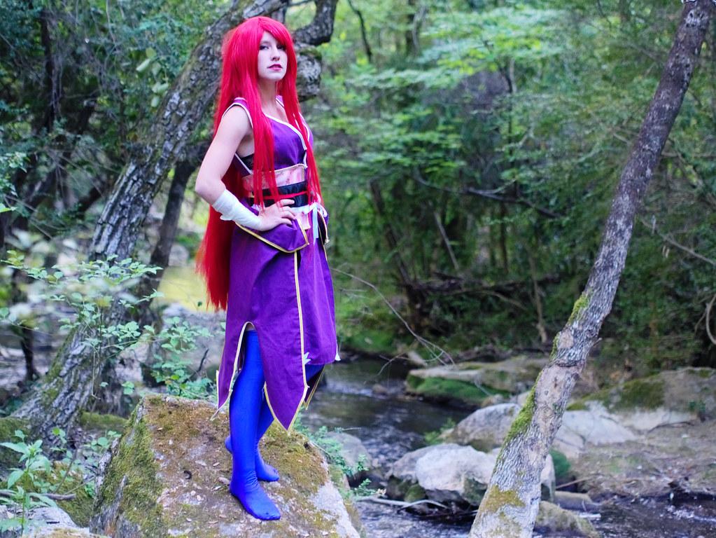 related image - Shooting Erza Scarlet - Robe de Yuen - Fairy Tail - Montferrat - 2015-05-15- P1080663