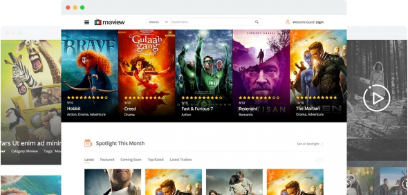 Moview v1.3 – Movie Database & Review Joomla 3.x Template
