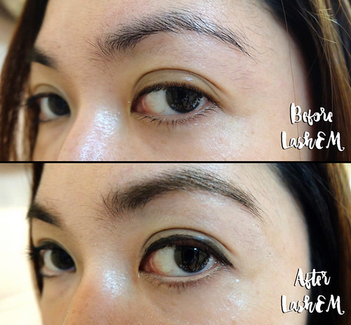 Lashem Colour Strokes Brow Tint and Lift