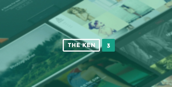 The Ken v3.7 – Multi-Purpose Creative WordPress Theme