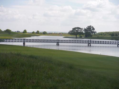 Bridge to cross, Oxfordshire Golf Club