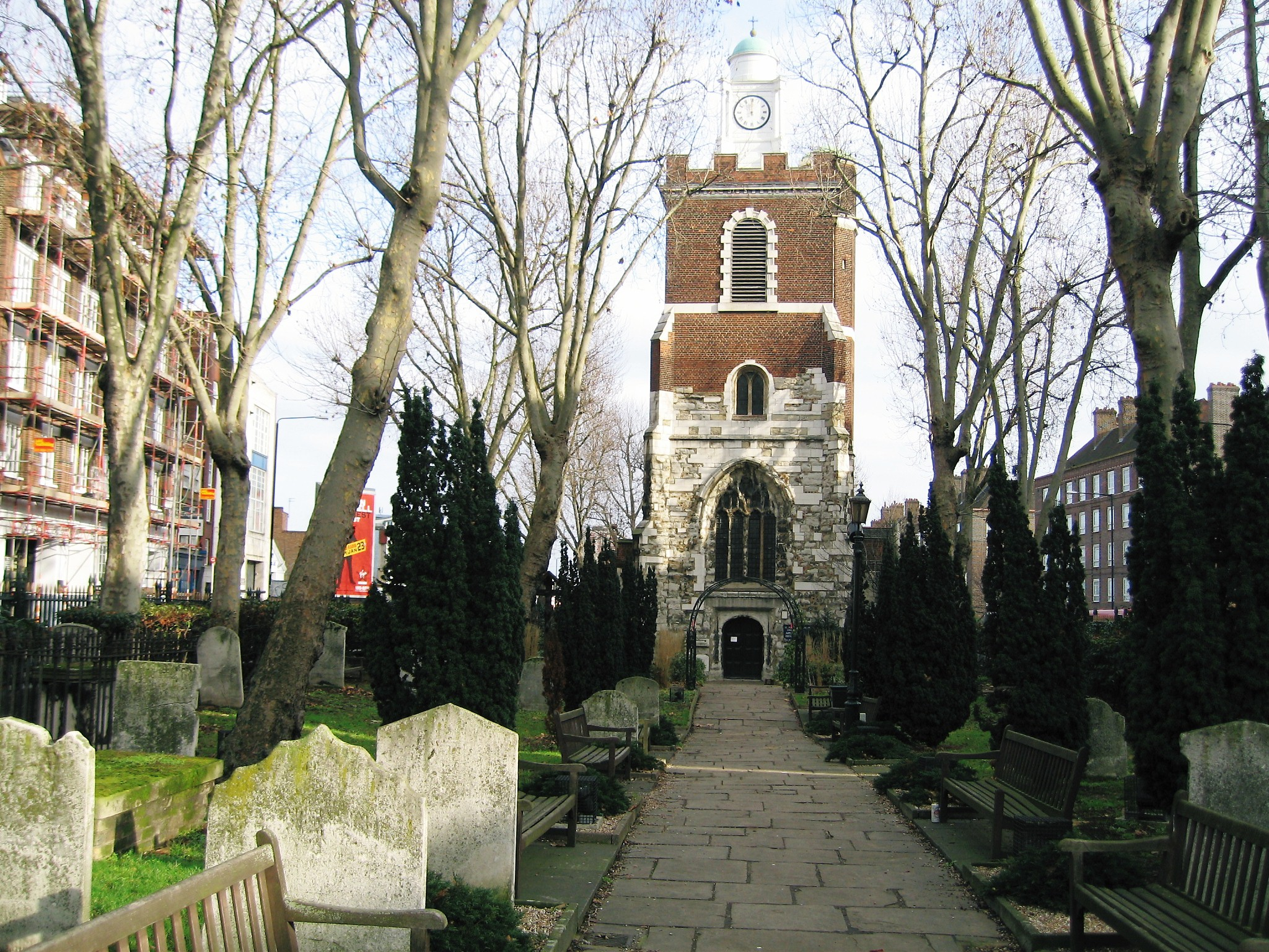 BOW, St Mary and Holy Trinity, London