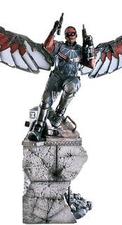 Iron Studios 美國隊長3:英雄內戰【獵鷹】Falcon 1/4 比例全身場景雕像