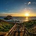 Setting Sun | Nobbies Wooden Walkway