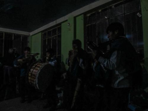 Lac Titicaca: l'orchestre