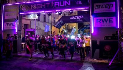 Rekordní Night Run v Ostravě vyhrál Gaura