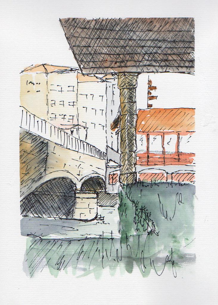 47th sketchcrawl, Donibane Garazi