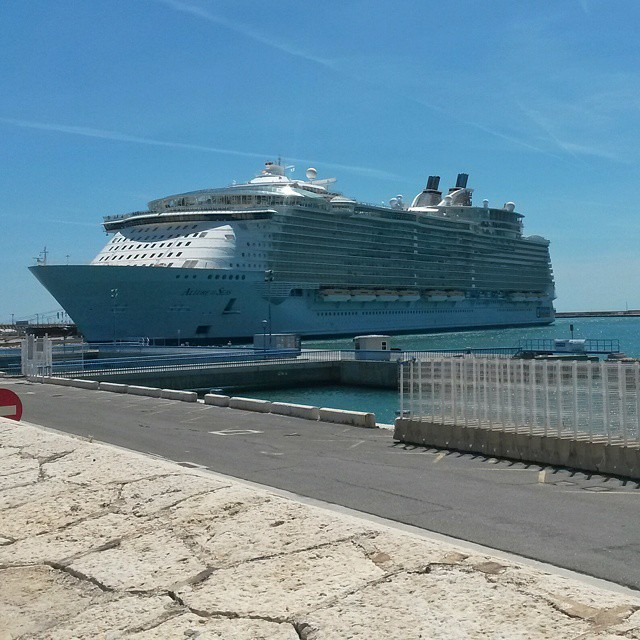 Allure of the Seas, Malaga, Espanja