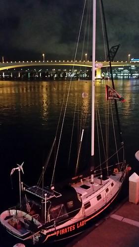 bridge water night landscape boats florida nighttime sail jacksonville fl stjohnsriver jacksonvillelanding lovefl iwantjacksonville